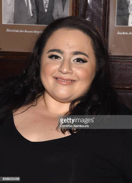 Nikki Blonsky attends 'Stuffed' Preview Show at The Friars Club on August 24 2017 in New York City