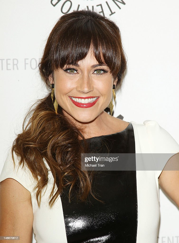 Nikki Deloach arrives at season 2 premiere screening of MTV's comedy series 'Awkward' held at The Paley Center for Media on June 21, 2012 in Beverly Hills, California.