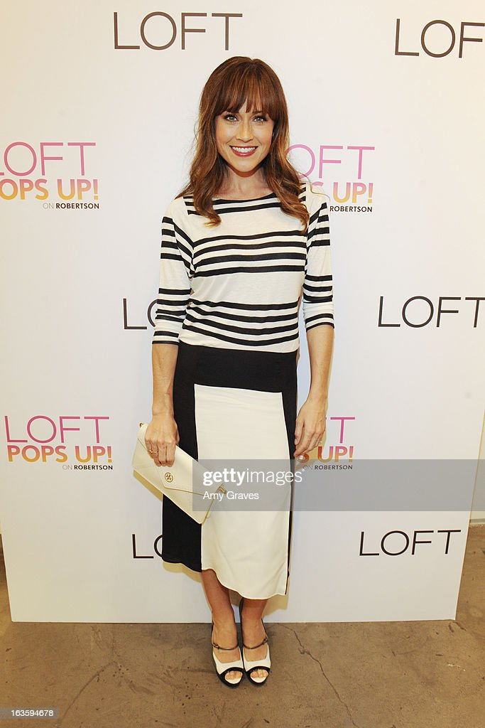 Nikki DeLoach attends the LOFT Pop-Up On Robertson event on March 12, 2013 in Los Angeles, California.