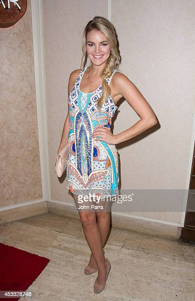 Nikki Ferrell attends Juan Pablo Galavis birthday bash party at Flamingo Theater Bar on August 7 2014 in Miami Florida