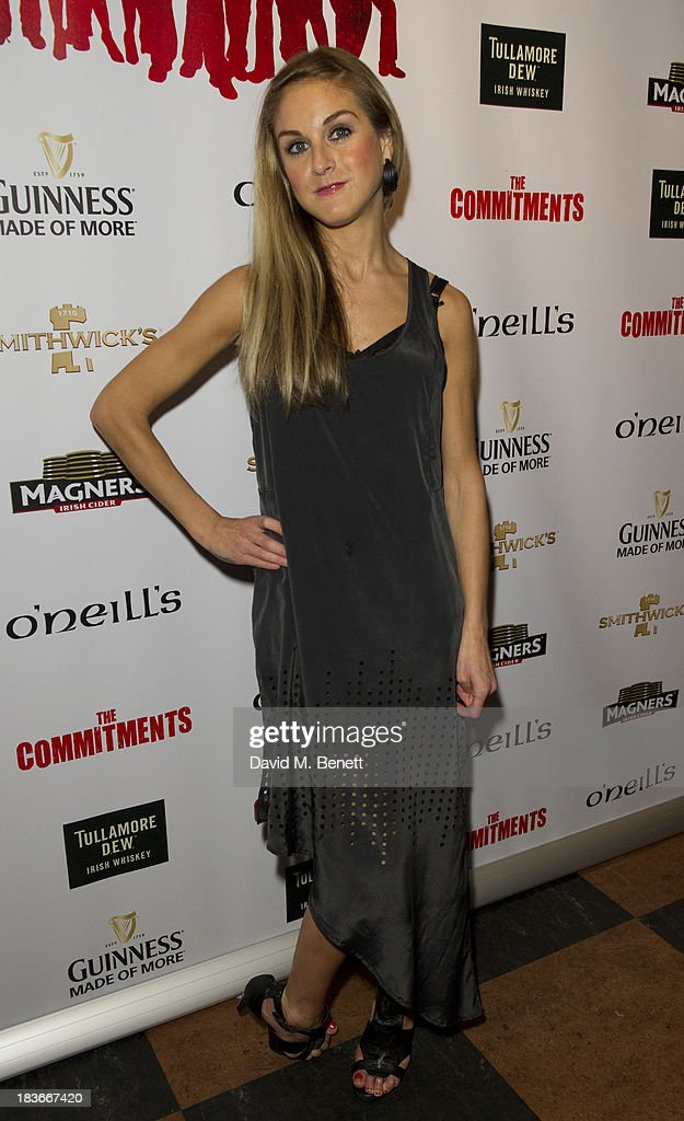 <a gi-track='captionPersonalityLinkClicked' href=/galleries/search?phrase=Nikki+Grahame&family=editorial&specificpeople=737344 ng-click='$event.stopPropagation()'>Nikki Grahame</a> attends an after party following the press night performance of 'The Commitments' at O'Neill's Soho on October 8, 2013 in London, England.