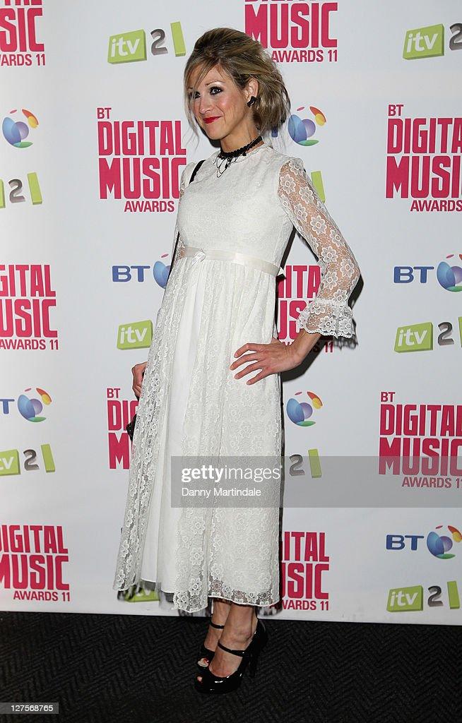 Nikki Grahame attends BT Digital Music Awards at The Roundhouse on September 29, 2011 in London, England.