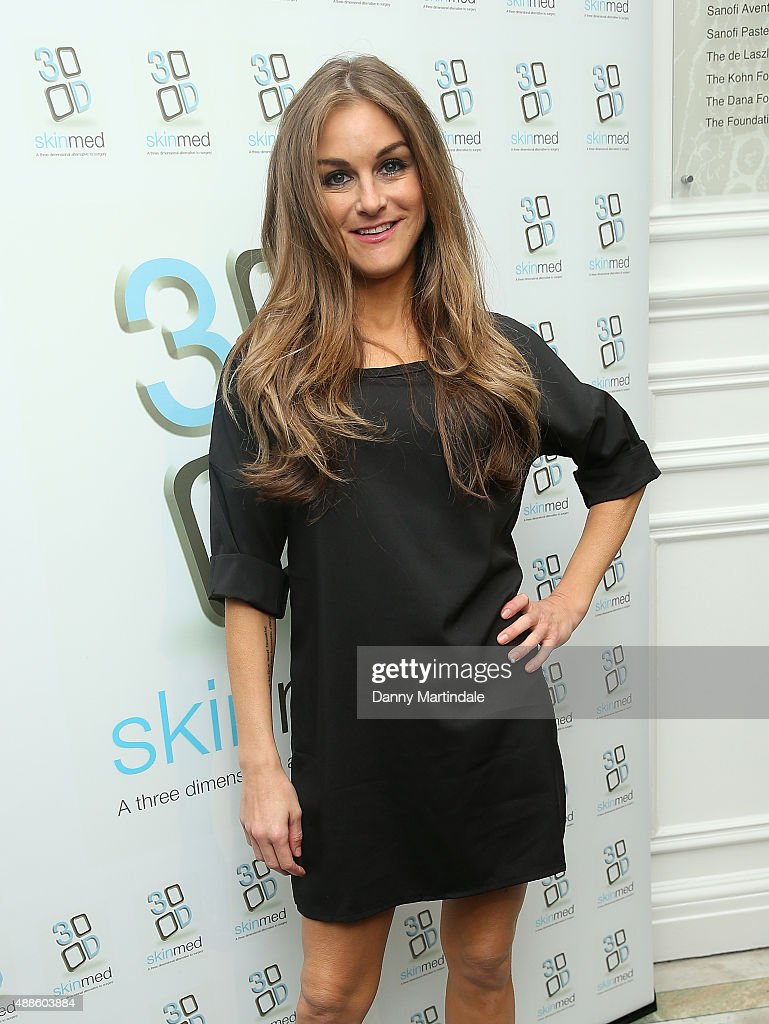 <a gi-track='captionPersonalityLinkClicked' href=/galleries/search?phrase=Nikki+Grahame&family=editorial&specificpeople=737344 ng-click='$event.stopPropagation()'>Nikki Grahame</a> attends the 3D-Skinmed press event at Academy of Medical Sciences on September 16, 2015 in London, England.