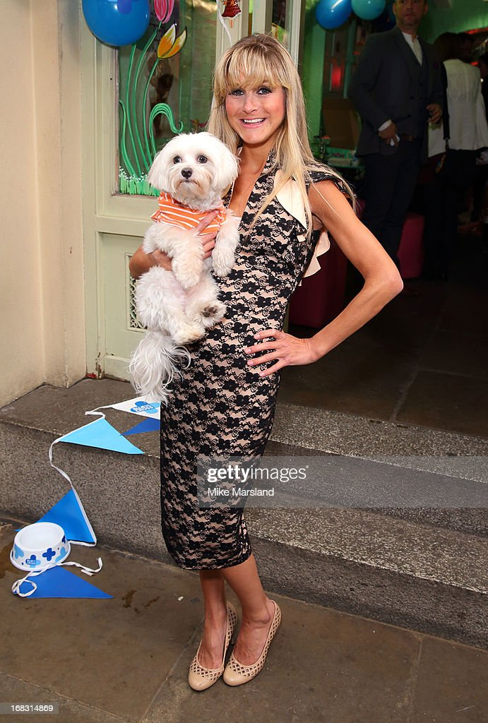 Nikki Grahame attends the Blue Cross tea party on May 8, 2013 in London, England.