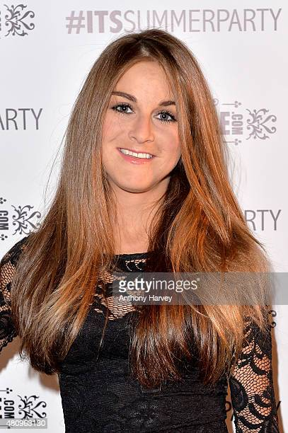 Nikki Grahame attends the In The Style x Now Summer Party at The Drury Club on July 16 2015 in London England