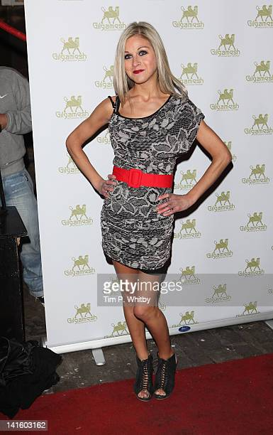 Nikki Grahame attends the launch of Amy Childs' SS12 Clothing Collection at Gilgamesh on March 19 2012 in London England
