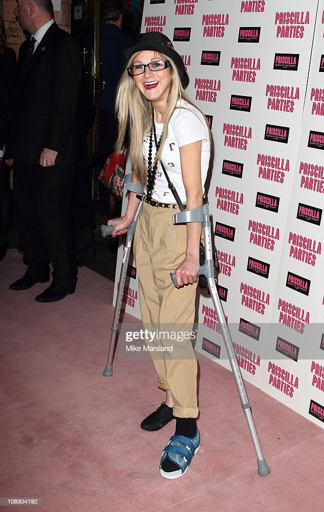 <a gi-track='captionPersonalityLinkClicked' href=/galleries/search?phrase=Nikki+Grahame&family=editorial&specificpeople=737344 ng-click='$event.stopPropagation()'>Nikki Grahame</a> attends the launch of 'Priscilla Parties' at Palace Theatre on January 24, 2011 in London, England.