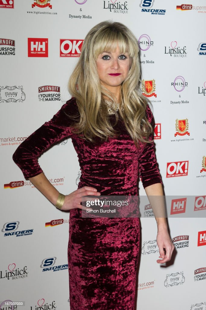 <a gi-track='captionPersonalityLinkClicked' href=/galleries/search?phrase=Nikki+Grahame&family=editorial&specificpeople=737344 ng-click='$event.stopPropagation()'>Nikki Grahame</a> attends the OK! Magazine Christmas Party at Sway on November 27, 2012 in London, England.