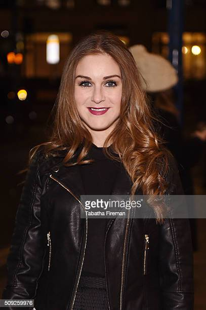 Nikki Grahame attends the Press night for 'Cirque Berserk' at The Peacock Theatre on February 9 2016 in London England