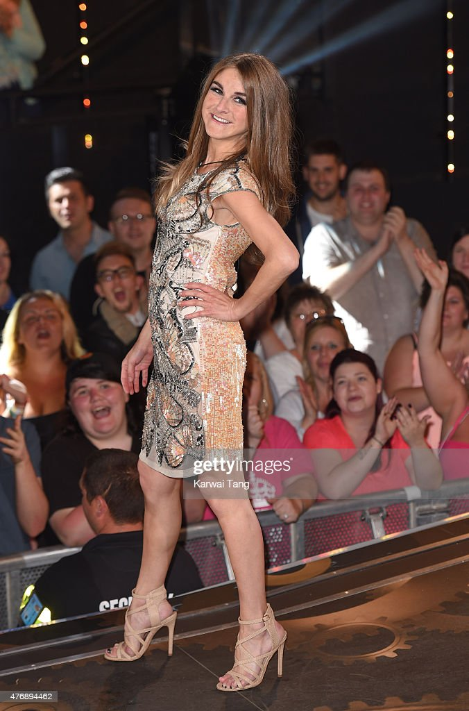 <a gi-track='captionPersonalityLinkClicked' href=/galleries/search?phrase=Nikki+Grahame&family=editorial&specificpeople=737344 ng-click='$event.stopPropagation()'>Nikki Grahame</a> enters the Big brother house at Elstree Studios on June 12, 2015 in Borehamwood, England.