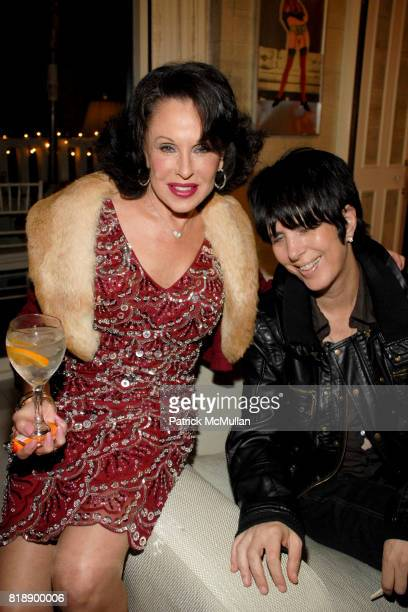 Nikki Haskell and Diane Warren attend Mayor Antonio Villaraigosa celebrates Nikki Haskell's Birthday at Sierra Towers on May 17th 2010 in West...