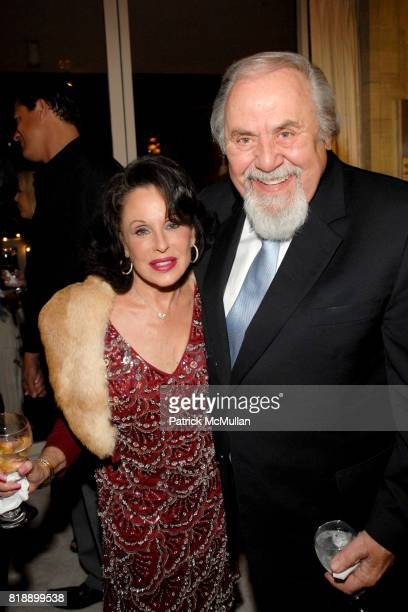 Nikki Haskell and George Schlatter attend Mayor Antonio Villaraigosa celebrates Nikki Haskell's Birthday at Sierra Towers on May 17th 2010 in West...