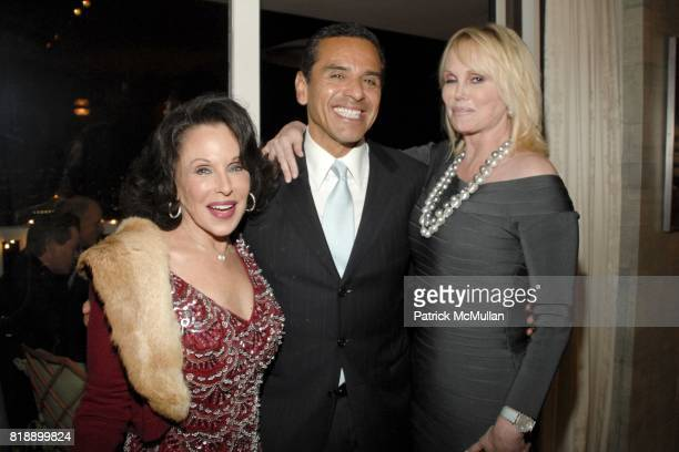 Nikki Haskell Antonio Villaraigosa and Kelly Day attend Mayor Antonio Villaraigosa celebrates Nikki Haskell's Birthday at Sierra Towers on May 17th...
