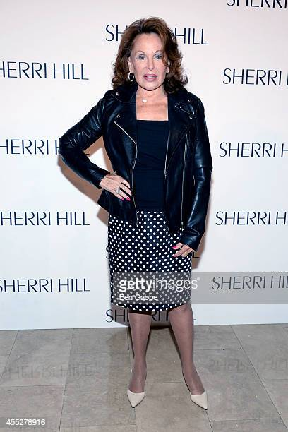 Nikki Haskell attends the Sherri Hill Fashion Show during MercedesBenz Fashion Week Spring 2015 on September 11 2014 in New York City