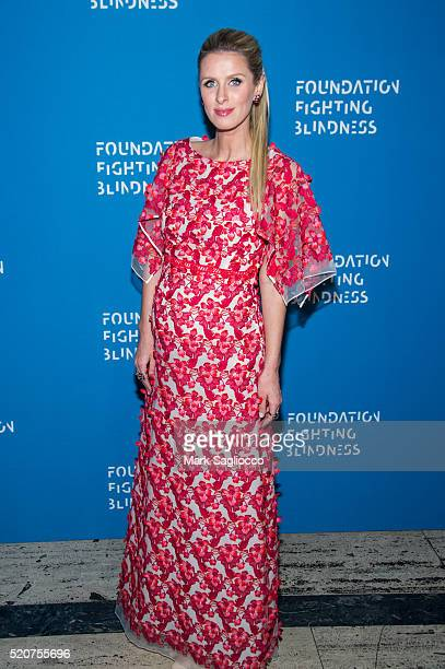 Nikki Hilton attends the 2016 Foundation Fighting Blindness World Gala at Cipriani Downtown on April 12 2016 in New York City