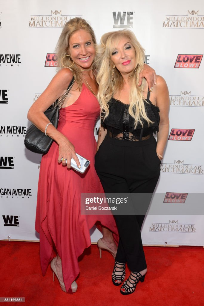 Nikki Jones and Lisa Galos attend WE tv's LOVE BLOWS Premiere Event at Flamingo Rum Club on August 16, 2017 in Chicago, Illinois.