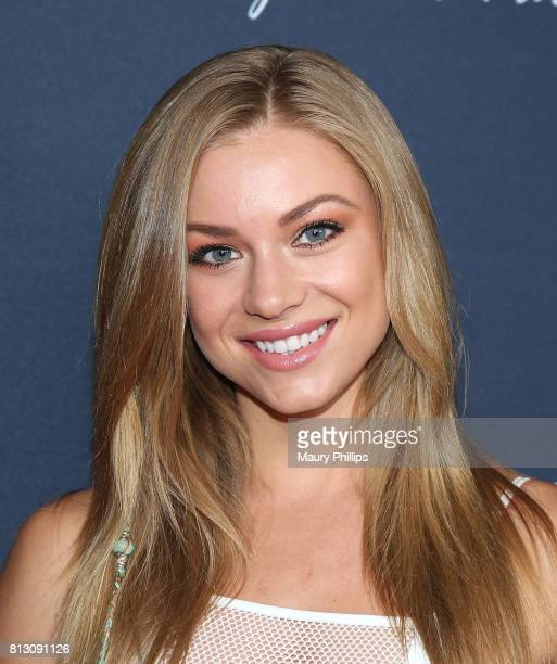 Nikki Leigh attends the 2017 Playmakers Party at Viva Hollywood on July 11 2017 in Hollywood California