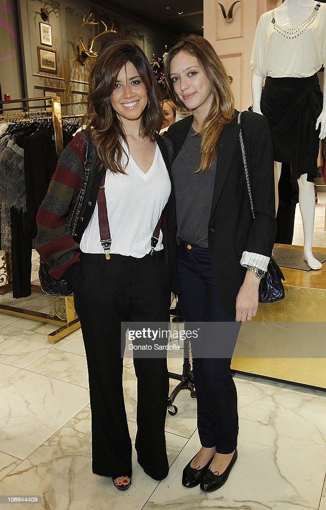 Nikki Leonti and Jessica Sebih attend Juicy Loves Glamour Girls by Erin Fetherston Launch hosted by Vogue at Juicy Couture on November 17, 2010 in Beverly Hills, California.