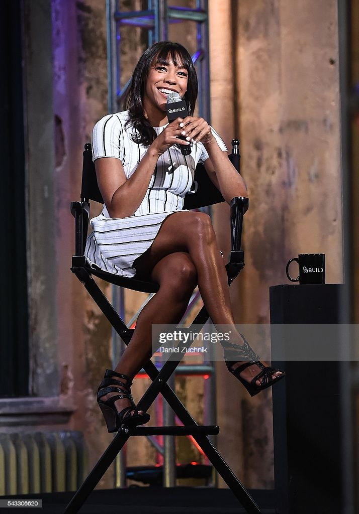 <a gi-track='captionPersonalityLinkClicked' href=/galleries/search?phrase=Nikki+M.+James&family=editorial&specificpeople=7591203 ng-click='$event.stopPropagation()'>Nikki M. James</a> attends AOL Build to discuss her show 'Braindead' at AOL Studios on June 27, 2016 in New York City.