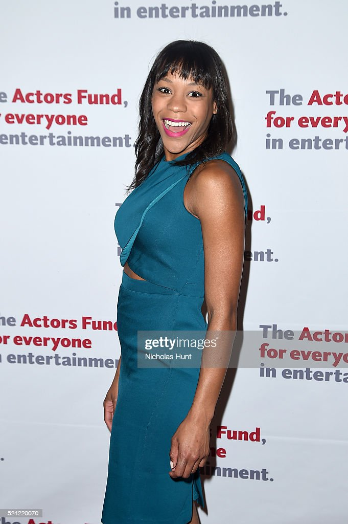 Nikki M. James attends The Actors Fund 2016 Gala at Marriott Marquis Times Square on April 25, 2016 in New York City.