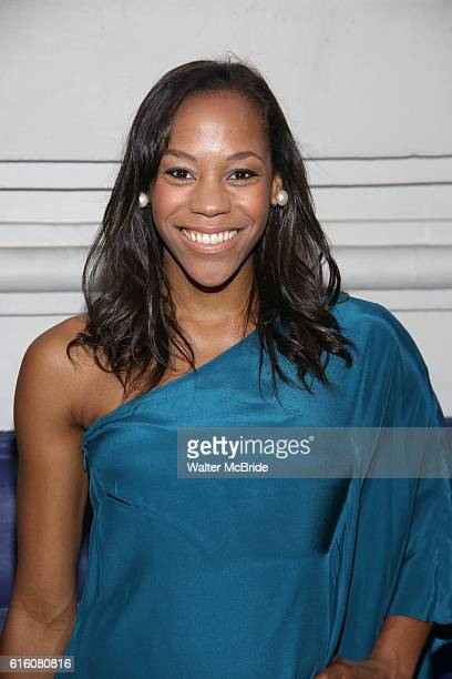 Nikki M James attends the Broadway Opening Night performance of 'The Front Page' at the Broadhurst Theatre on October 20 2016 in New York City