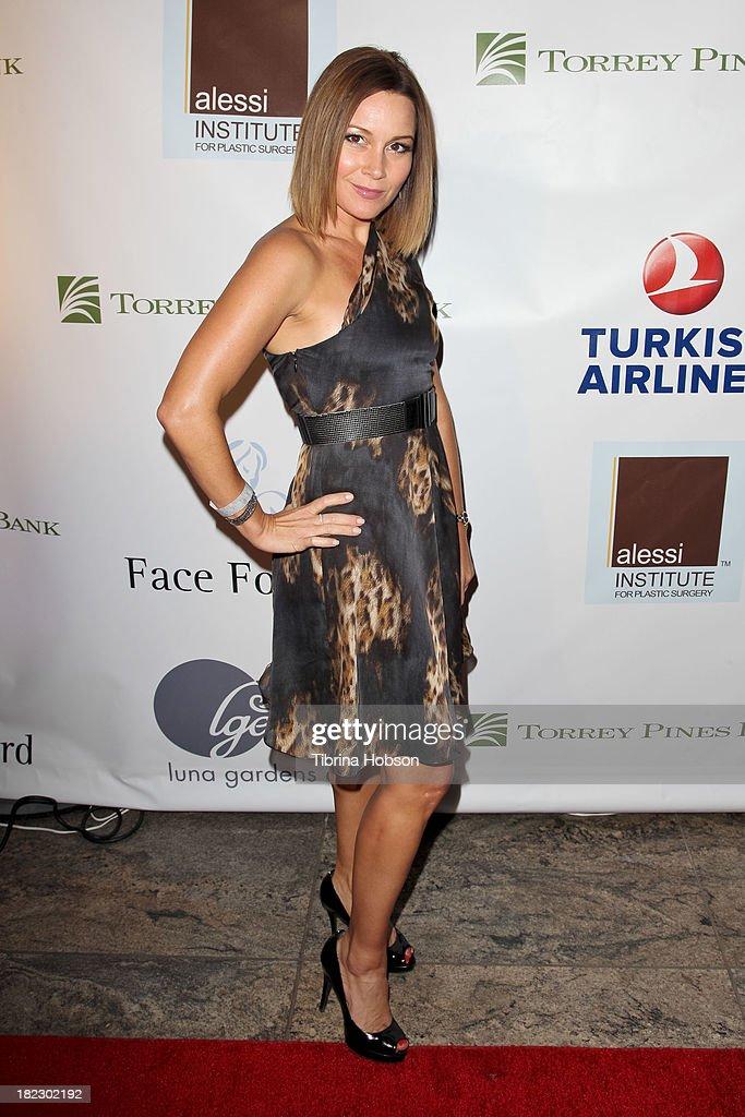 Nikki Michelini attends the 4th annual Face Forward LA Gala at Fairmont Miramar Hotel on September 28, 2013 in Santa Monica, California.