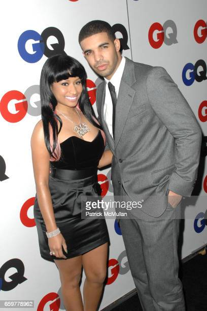 Nikki Minaj and guest attend GQ 'Men Of The Year' Party at Chateau Marmont on November 18 2009 in Los Angeles California