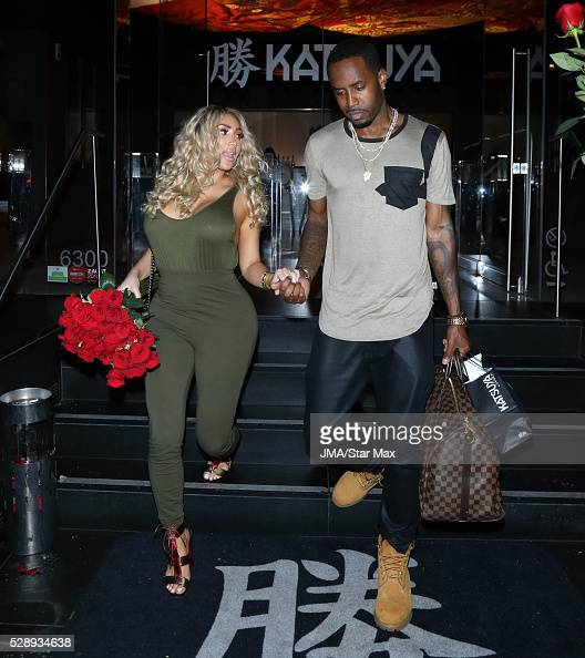 Nikki mudarris and safaree samuels are seen on may 6 2016 in los