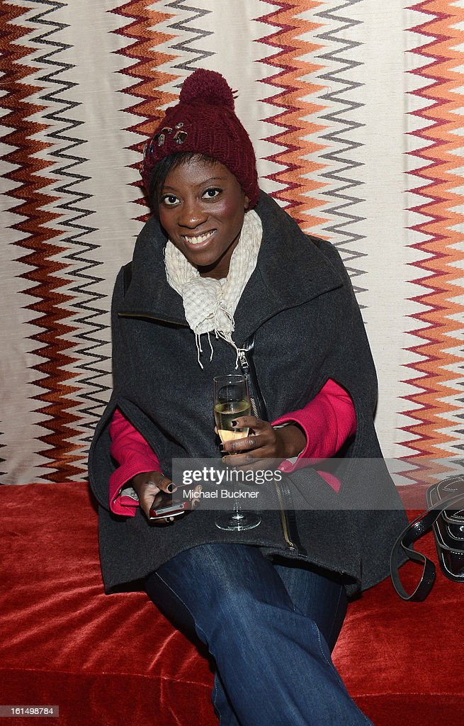 Nikki Ogunnaike attends the Mercedes-Benz Star Lounge during Mercedes-Benz Fashion Week Fall 2013 at Lincoln Center on February 11, 2013 in New York City.