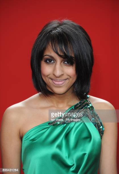 Nikki Patel arriving for the 2009 British Soap Awards at the BBC Television Centre Wood Lane London