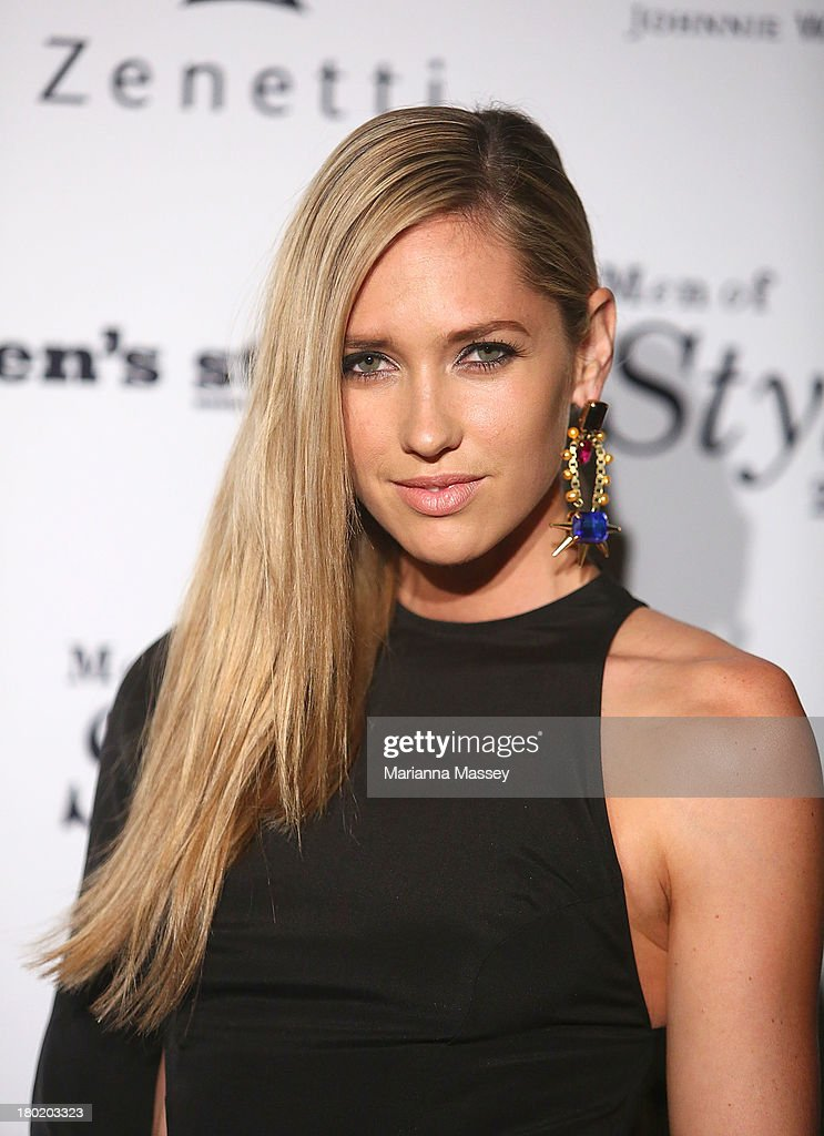 <a gi-track='captionPersonalityLinkClicked' href=/galleries/search?phrase=Nikki+Phillips&family=editorial&specificpeople=2253055 ng-click='$event.stopPropagation()'>Nikki Phillips</a> arrives at the Men's Style 10th Birthday Party at The Ivy on September 10, 2013 in Sydney, Australia.