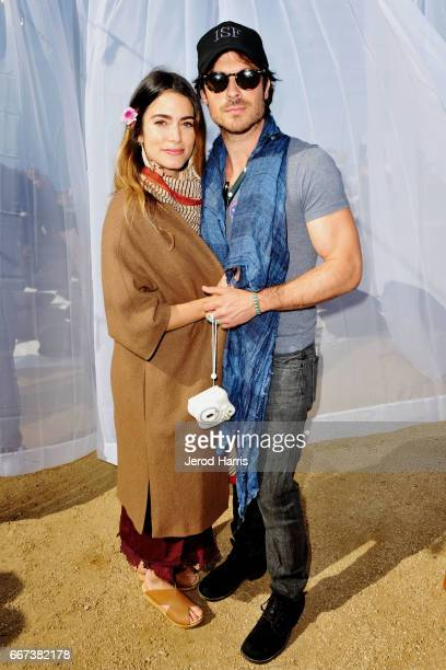 Nikki Reed and Ian Somerhalder attend the 2017 PTTOW Summit Love Courage at Terranea Resort on April 11 2017 in Rancho Palos Verdes California