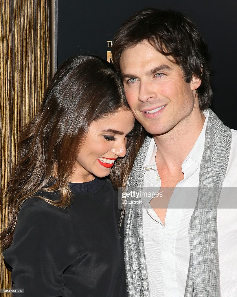 <a gi-track='captionPersonalityLinkClicked' href=/galleries/search?phrase=Nikki+Reed&family=editorial&specificpeople=220844 ng-click='$event.stopPropagation()'>Nikki Reed</a> and <a gi-track='captionPersonalityLinkClicked' href=/galleries/search?phrase=Ian+Somerhalder&family=editorial&specificpeople=614226 ng-click='$event.stopPropagation()'>Ian Somerhalder</a> attend the 3rd Annual Noble Awards held at the Beverly Hilton Hotel on February 27, 2015 in Beverly Hills, California.