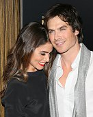 Nikki Reed and Ian Somerhalder attend the 3rd Annual Noble Awards held at the Beverly Hilton Hotel on February 27 2015 in Beverly Hills California