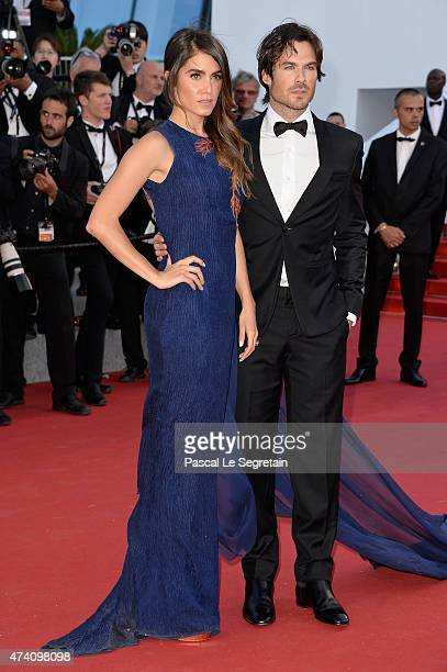 Nikki Reed and Ian Somerhalder attend the 'Youth' Premiere during the 68th annual Cannes Film Festival on May 20 2015 in Cannes France