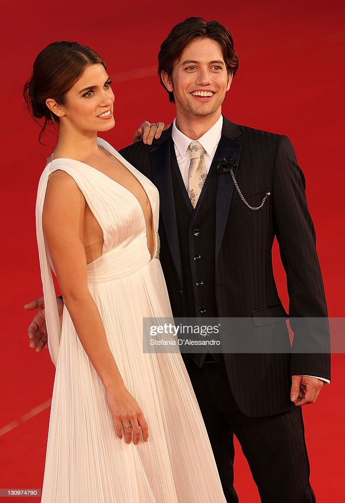 Nikki Reed and <a gi-track='captionPersonalityLinkClicked' href=/galleries/search?phrase=Jackson+Rathbone&family=editorial&specificpeople=4070053 ng-click='$event.stopPropagation()'>Jackson Rathbone</a> attend 'The Twilight Saga: Breaking Dawn - Part 1' Premiere during 6th International Rome Film Festivalon October 30, 2011 in Rome, Italy.