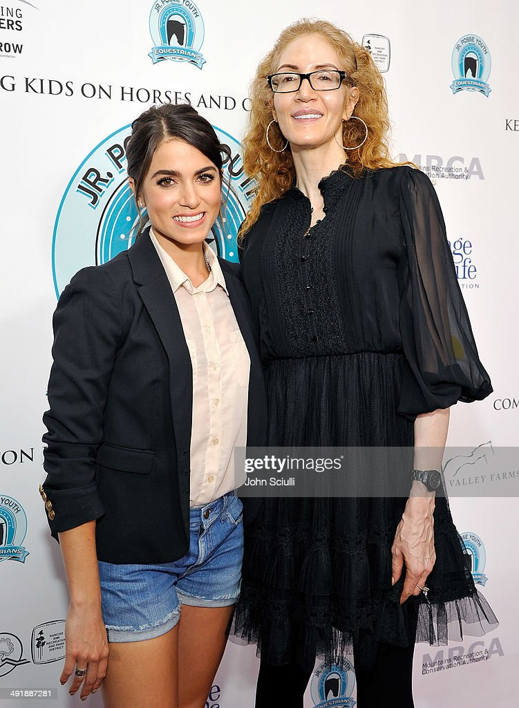 Nikki Reed and Jami Morse Heidegger attend Compton Jr. Posse 7th annual fundraiser gala at The Los Angeles Equestrian Center on May 17, 2014 in Burbank, California.