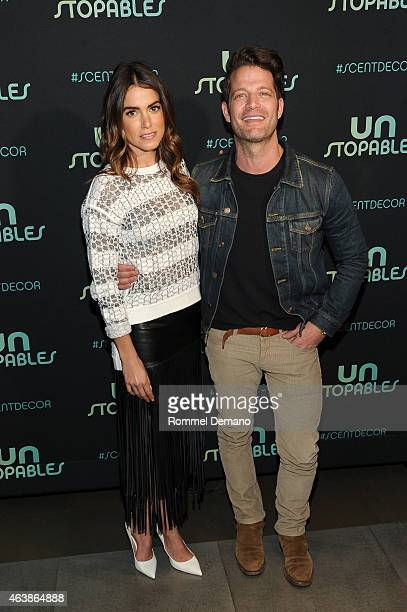 Nikki Reed and Nate Berkus attend Unstopables Launch Event at Maison 24 on February 19 2015 in New York City