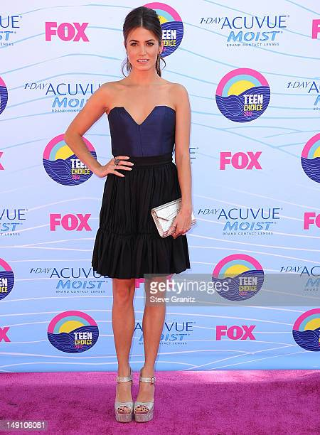 Nikki Reed arrives at the 2012 Teen Choice Awards at Gibson Amphitheatre on July 22 2012 in Universal City California