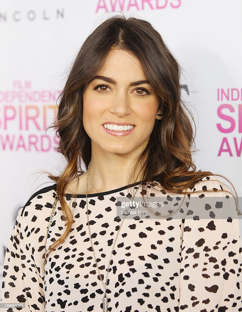 <a gi-track='captionPersonalityLinkClicked' href=/galleries/search?phrase=Nikki+Reed&family=editorial&specificpeople=220844 ng-click='$event.stopPropagation()'>Nikki Reed</a> arrives at the 2013 Film Independent Filmmaker Grant And Spirit Award nominees brunch held at BOA Steakhouse on January 12, 2013 in West Hollywood, California.