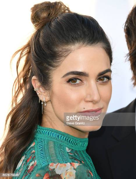 Nikki Reed arrives at the 27th Annual EMA Awards at Barker Hangar on September 23 2017 in Santa Monica California