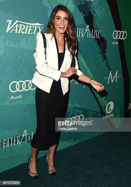 Nikki Reed arrives at the Variety's 2014 Power Of Women Event In LA Presented By Lifetime at the Beverly Wilshire Four Seasons Hotel on October 10...