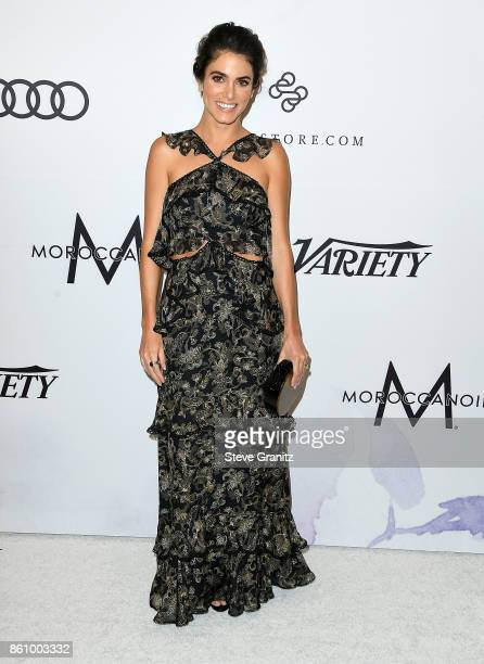 Nikki Reed arrives at the Variety's Power Of Women Los Angeles at the Beverly Wilshire Four Seasons Hotel on October 13 2017 in Beverly Hills...