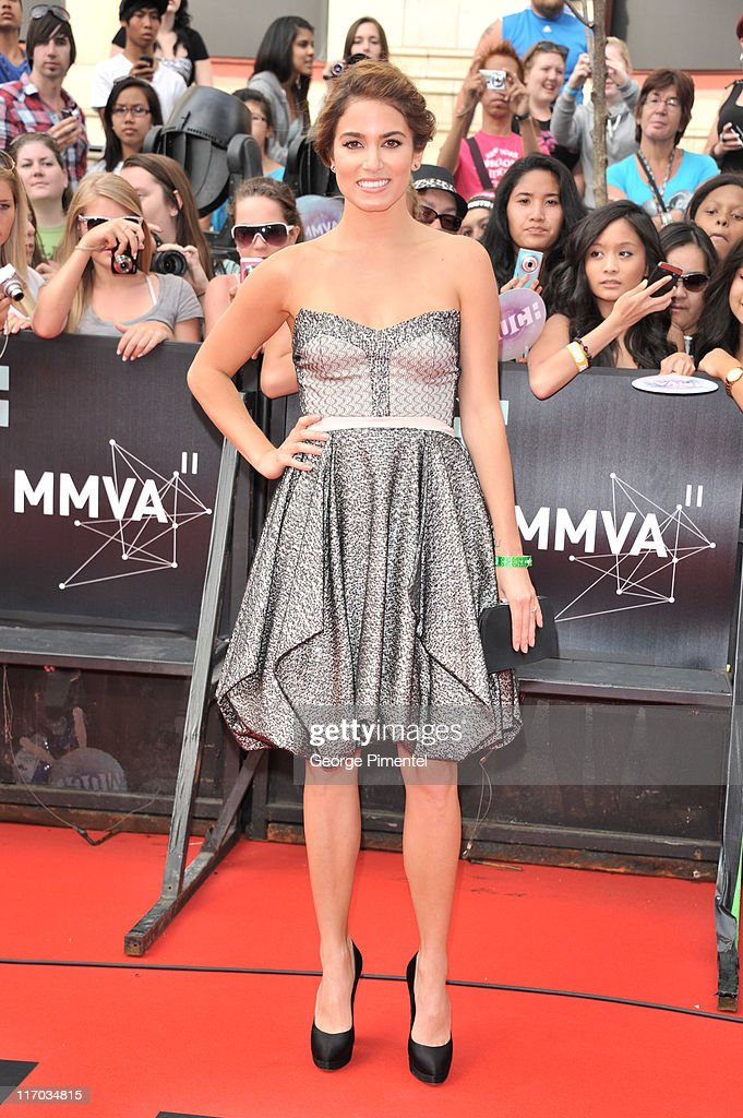 Nikki Reed arrives on the red carpet of the 22nd Annual MuchMusic Video Awards at the MuchMusic HQ on June 19, 2011 in Toronto, Canada.