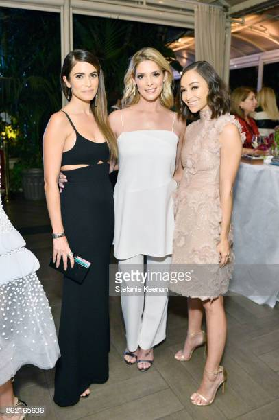 Nikki Reed Ashley Greene and Cara Santana attend ELLE's 24th Annual Women in Hollywood Celebration presented by L'Oreal Paris Real Is Rare Real Is A...