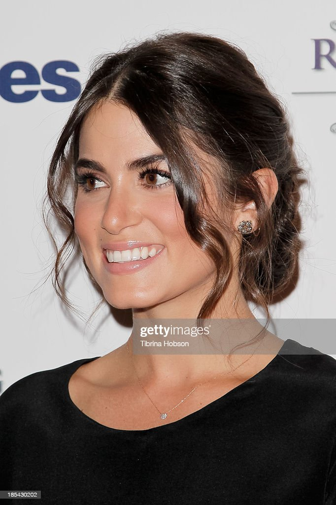 Nikki Reed attends at the Unlikely Heroes' recognizing heroes awards dinner And gala at W Hollywood on October 19, 2013 in Hollywood, California.