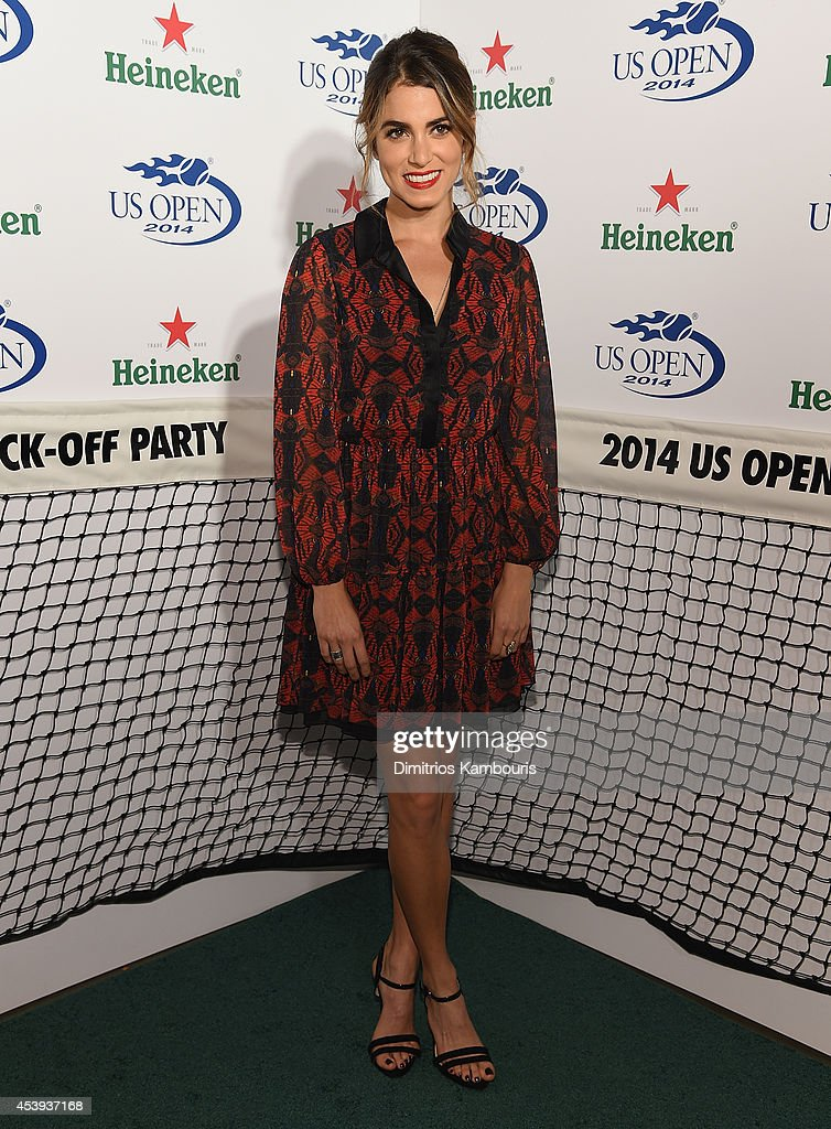 <a gi-track='captionPersonalityLinkClicked' href=/galleries/search?phrase=Nikki+Reed&family=editorial&specificpeople=220844 ng-click='$event.stopPropagation()'>Nikki Reed</a> attends the 2014 Heineken US Open Kick Off Party at PH-D Rooftop Lounge at Dream Downtown on August 21, 2014 in New York City.