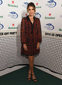 Nikki Reed attends the 2014 Heineken US Open Kick Off Party at PHD Rooftop Lounge at Dream Downtown on August 21 2014 in New York City