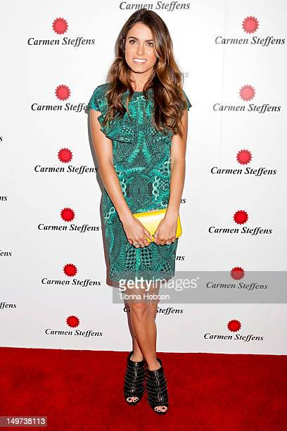 Nikki Reed attends the Carmen Steffens US west coast flagship store opening at Hollywood Highland Center on August 2 2012 in Hollywood California