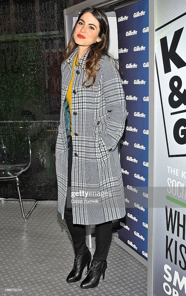 <a gi-track='captionPersonalityLinkClicked' href=/galleries/search?phrase=Nikki+Reed&family=editorial&specificpeople=220844 ng-click='$event.stopPropagation()'>Nikki Reed</a> attends the 'Kiss & Tell' Event Hosted By <a gi-track='captionPersonalityLinkClicked' href=/galleries/search?phrase=Nikki+Reed&family=editorial&specificpeople=220844 ng-click='$event.stopPropagation()'>Nikki Reed</a> at Times Square on January 16, 2013 in New York City.